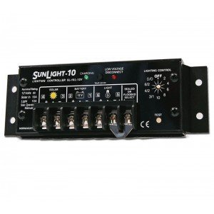 Morningstar SL-10L-12V Sunlight-10 Amp With Lvd