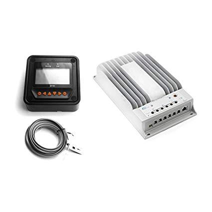 EPsolar Tracer 2215BN MPPT Solar Battery Charge Controller Regulator 20A 12/24V + MT-50